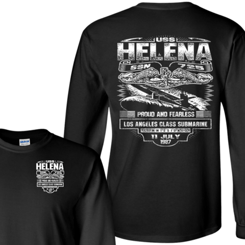 Image of USS HELENA SSN 725 T Shirts and Hoodies