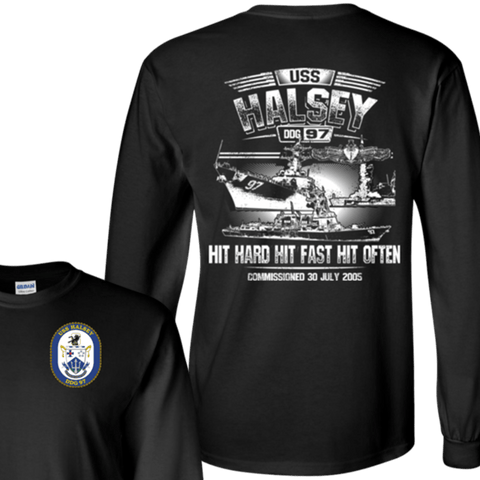 USS Halsey DDG 97 T Shirts and Hoodies