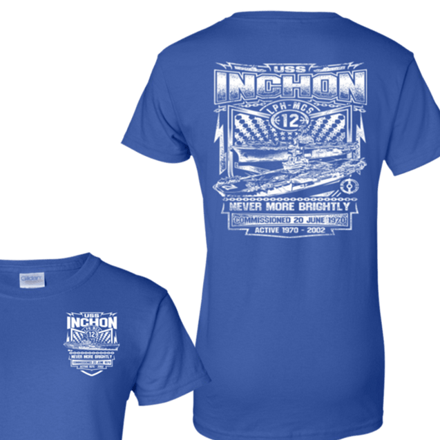 USS Inchon LPH MCS 12 T Shirts and Hoodies
