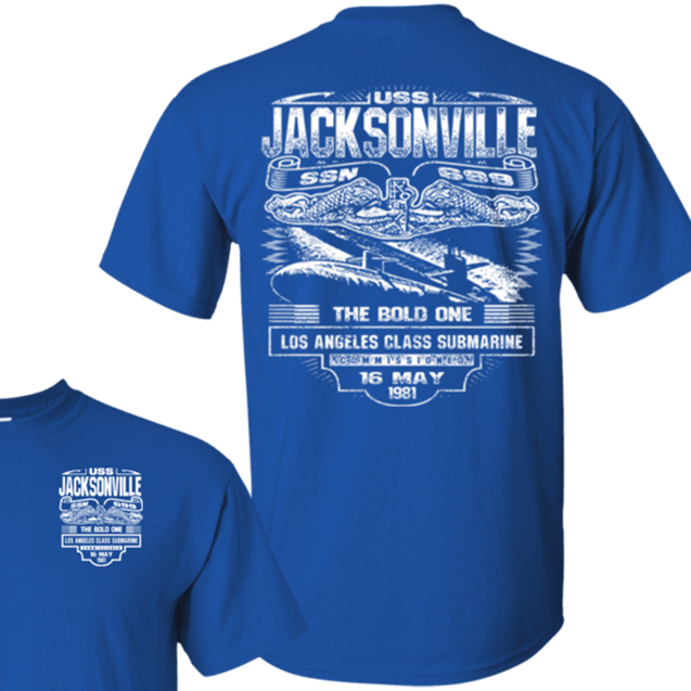 USS JACKSONVILLE SSN 699 T Shirts and Hoodies