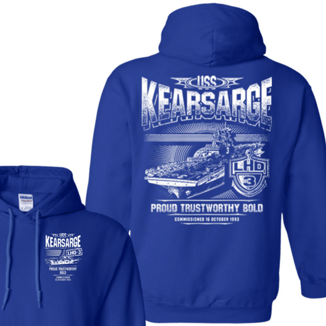 USS KEARSARGE LHD 3 T Shirts and Hoodies