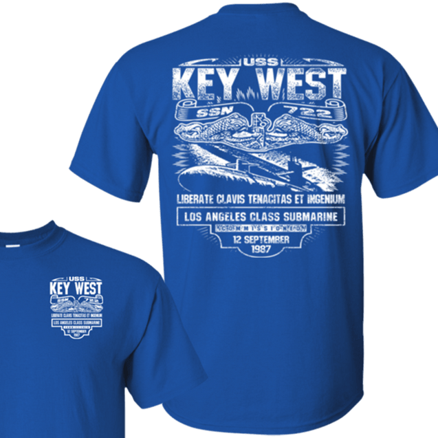 USS KEY WEST SSN 722 T Shirts and Hoodies