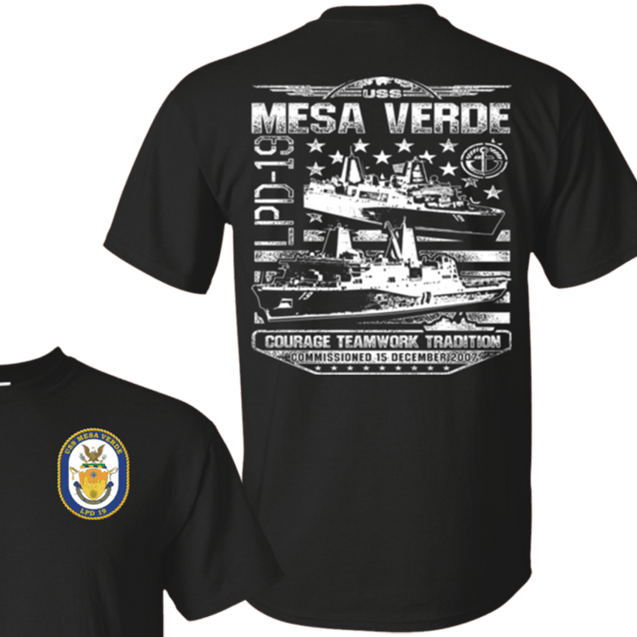 USS MESA VERDE LPD 19 T Shirts and Hoodies