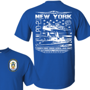 USS NEW YORK LPD 21 T Shirts and Hoodies