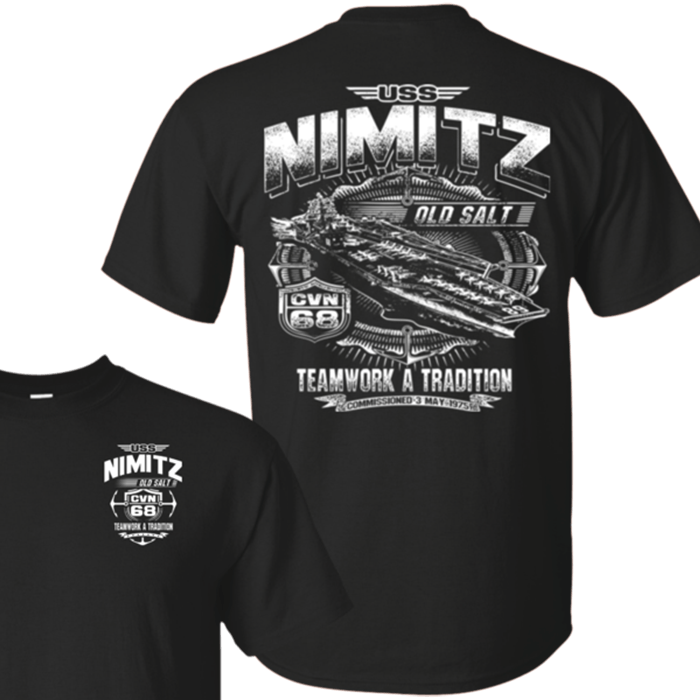 USS NIMITZ CVN 68 T Shirts and Hoodies