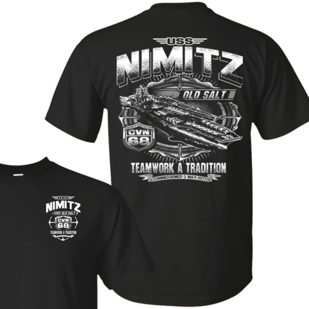USS NIMITZ CVN-68 T Shirts and Hoodies