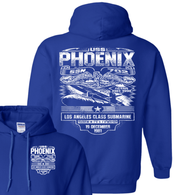 USS PHOENIX SSN 702 T Shirts and Hoodies