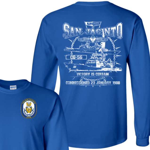 USS SAN JACINTO CG 56 T Shirts and Hoodies