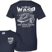 USS WASP LHD 1  Ladies' T-Shirt
