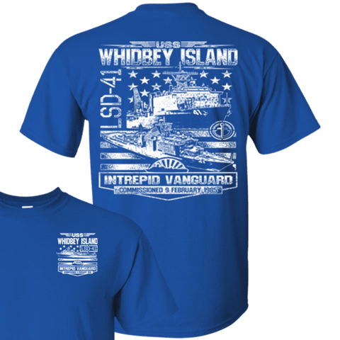 USS WHIDBEY ISLAND LSD 41 T Shirts and Hoodies