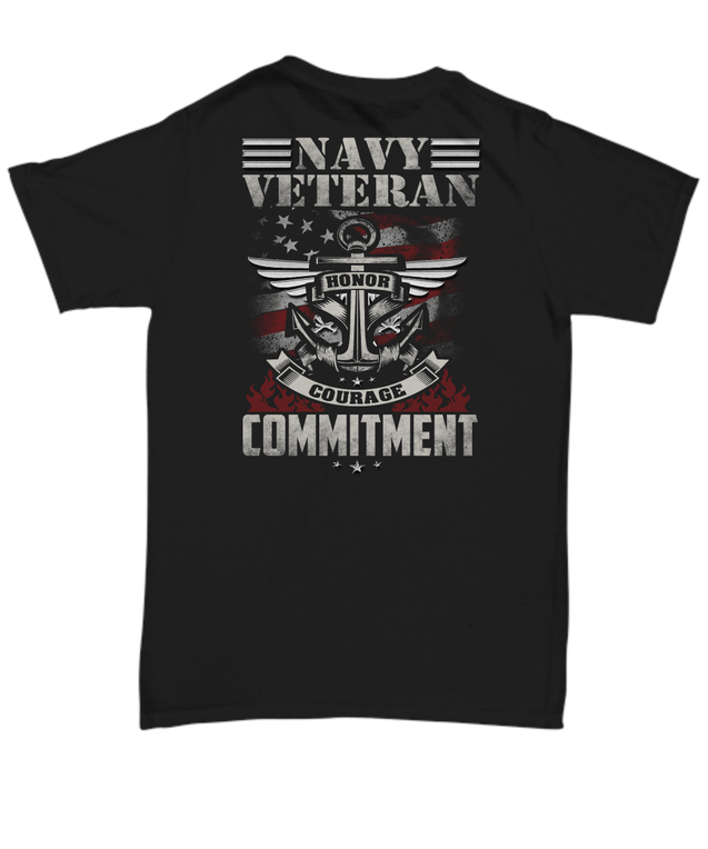 Navy Veteran T Shirt