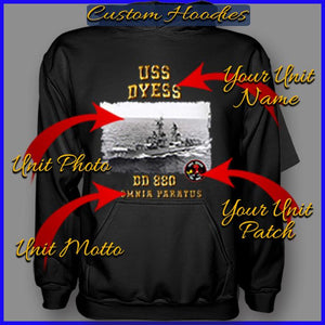 Custom Made Hoodies