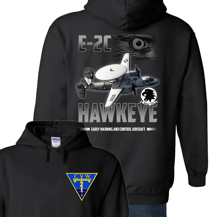 VAW 113 E2C Hawkeye T Shirts and Hoodies