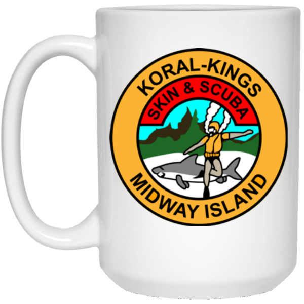 Koral Kings Midway Island Mug and Beer Stein
