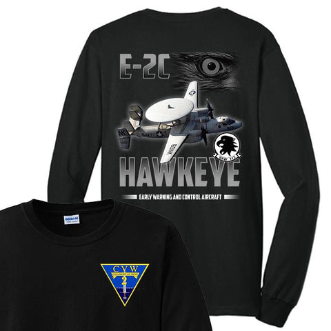 Image of VAW 113 E2C Hawkeye T Shirts and Hoodies
