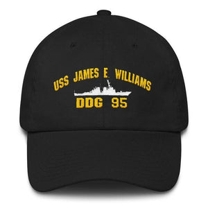 USS JAMES E. WILLIAMS DDG 95 Baseball Cap