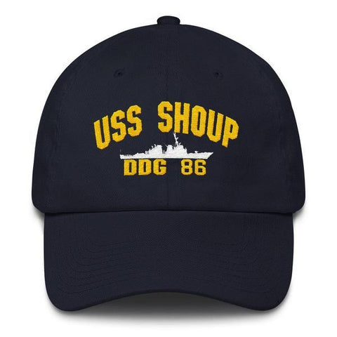 Image of USS SHOUP DDG 86 Baseball Cap