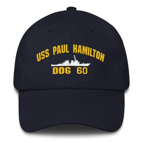 Image of USS PAUL HAMILTON DDG 60 Baseball Cap