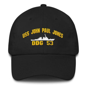 USS JOHN PAUL JONES DDG 53 Baseball Cap
