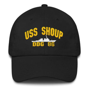 USS SHOUP DDG 86 Baseball Cap