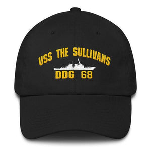 USS THE SULLIVANS DDG 68 Baseball Cap