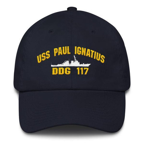 Image of USS PAUL IGNATIUS DDG 117 Baseball Cap