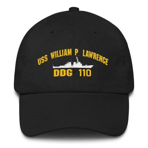 USS WILLIAM P. LAWRENCE DDG 110 Baseball Cap