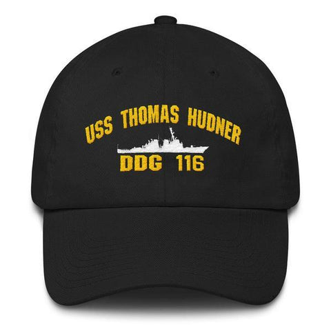 Image of USS THOMAS HUDNER DDG 116 Baseball Cap