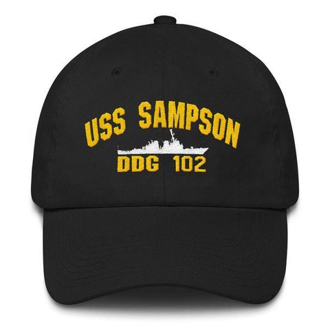 Image of USS SAMPSON DDG 102 Baseball Cap