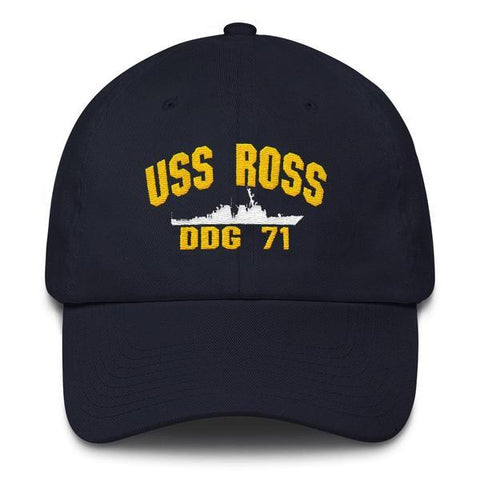 Image of USS ROSS DDG 71 Baseball Cap