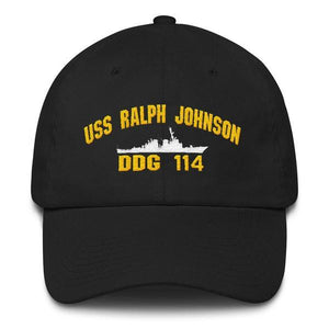 USS RALPH JOHNSON DDG 114 Baseball Cap