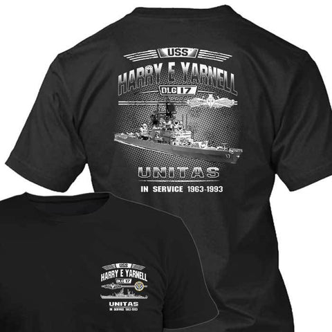 USS Harry E Yarnell DLG 17
