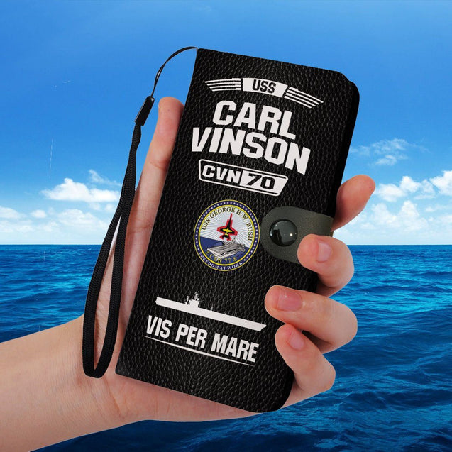 USS CARL VINSON CVN 70 PHONE CASE
