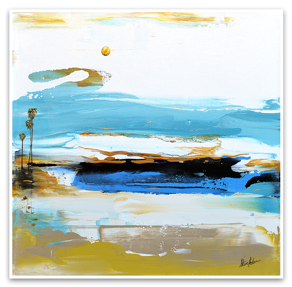 The Original Palm Seascape Series - Steve Adam Prints