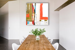 Abstract Art for Dinning Room
