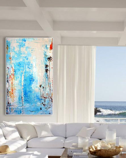 Coastal Abstract Artist Steve Adam