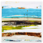 Load image into Gallery viewer, Palm Seascape Series - Modern Abstract
