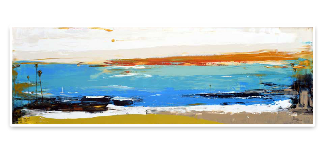 Dana Point Horizontal Abstract Painting