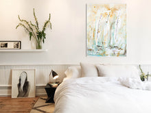 modern impressionistic - Steve Adam Painting in Bedroom
