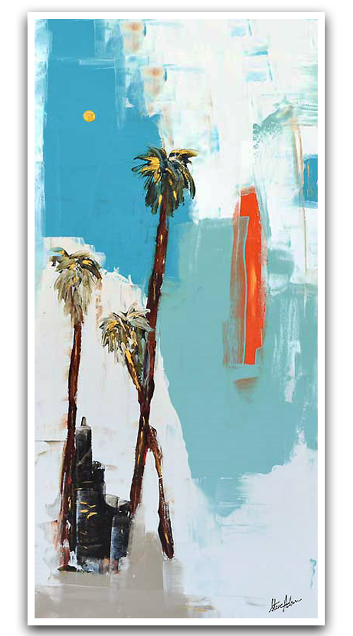 Modern Abstract Laguna Beach Artist