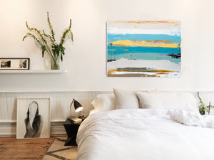 Abstract art for bedroom