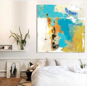 Abstract Painting on wall