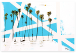 Load image into Gallery viewer, Palm Tree Abstract Modern Art