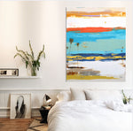 Load image into Gallery viewer, Interior Modern Design with Abstract Art on wall