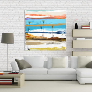 Fine Art Reproduction Print in Living Room