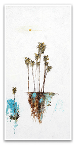 Load image into Gallery viewer, Textured Palm Seascape