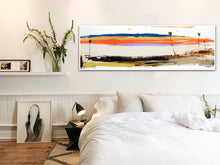 Coastal Modern Steve Adam Painting in Bedroom