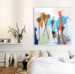 Load image into Gallery viewer, Coastal Modern Abstract in Room