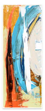 Load image into Gallery viewer, Bright Colorful Abstract Steve Adam Original