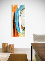 Load image into Gallery viewer, Steve Adam Coastal Abstract Art in Dining Room